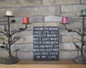 SALE- Jace Quote Sign