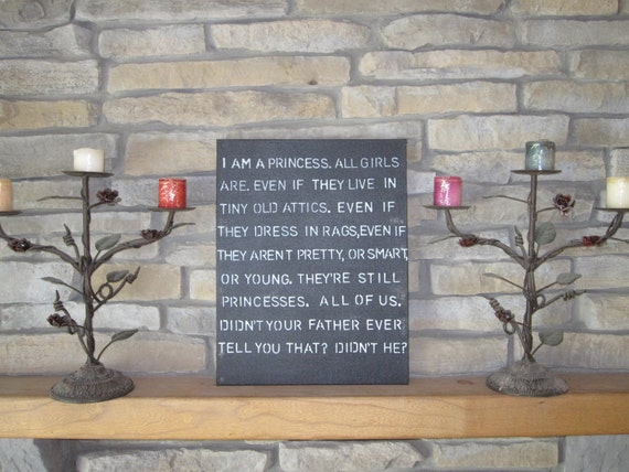 Princess Quote Sign