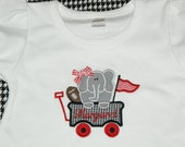 Alabama Wagon Applique TShirt