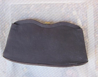 1960s Black Vintage GARAY Evening Bag