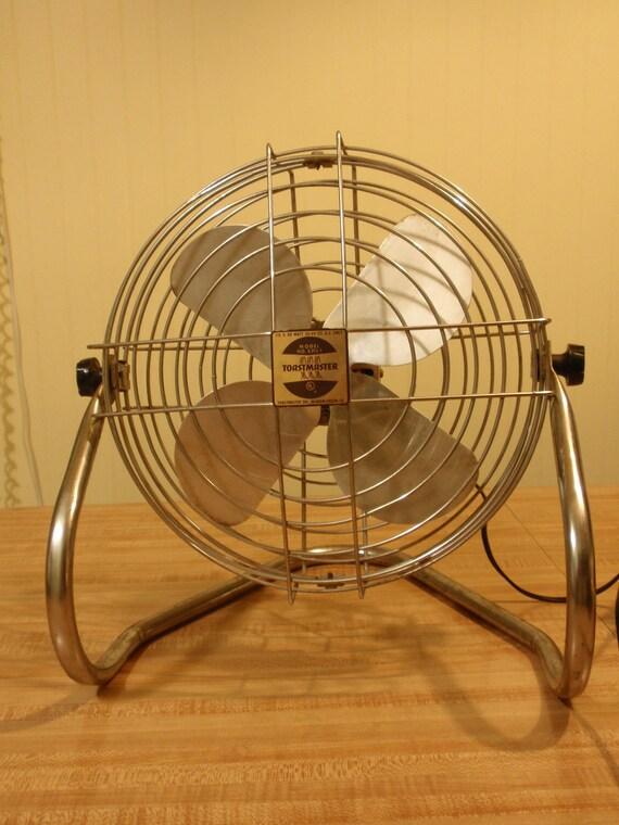 SALE: Vintage Electric Fan -  Toastmaster 1960s Model 5312-1 - Industrial Style