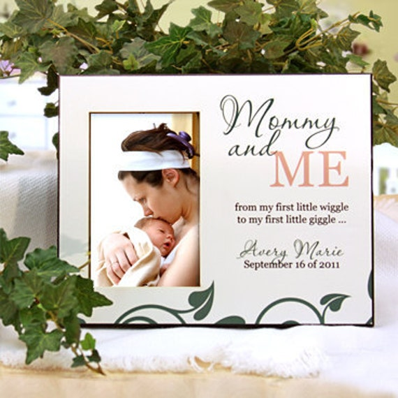 Personalized Photo Frame For New Baby New Mom Mommy