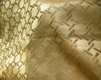Heavy-weight gold fabric - brocadish...