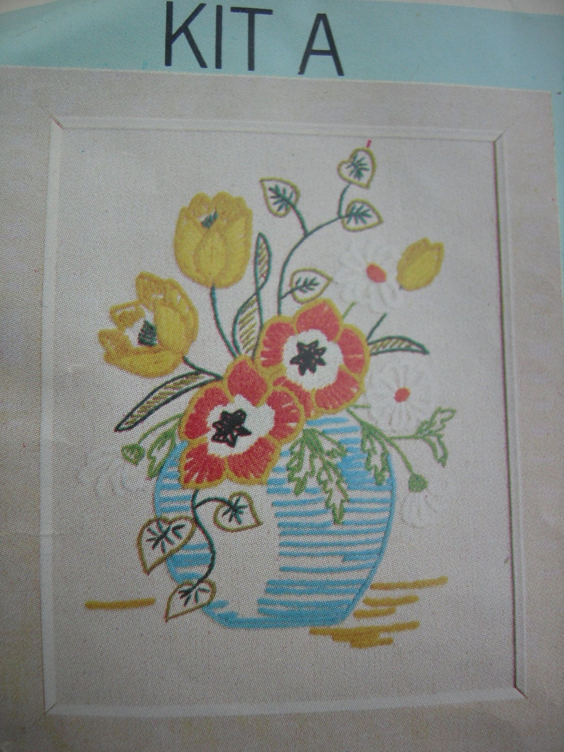 Vintage crewel embroidery patterns by artcapades on etsy