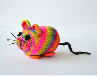 Mouse Crochet Pattern, Amigurumi Mouse Pattern, Mouse Amigurumi Pattern, Crochet Mouse Pattern, Mice Crochet Pattern Cat Toy Crochet Pattern