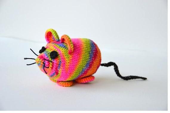 Mouse Crochet Pattern Amigurumi Mouse Pattern Mouse