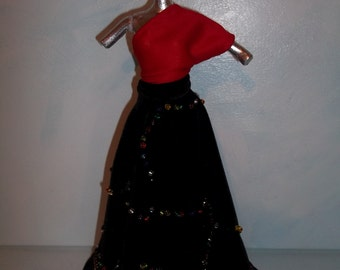 Barbie Christmas Formal Gown