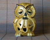 Owl Candle Holder Lantern