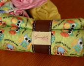 Owls - Waterproof Baby Changing Pad (Made to Order)