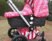 Custom Bugaboo Stroller Bassinet Apron for Cameleon / Frog / Gecko - you choose color combo