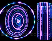 Purple People Eater 21 LED Lighted Hoop, Rechargeable
