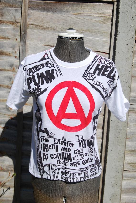 Anarchist Punk Gang -Seditionaries Repro Punk T-Shirt - Small