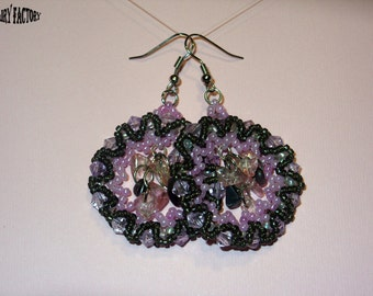 Pattern Earrings Your Perfect - handmade seed beads tutorial