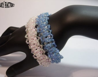 The King Favour - Cuff/Bracelet PDF Pattern, seed beads handmade