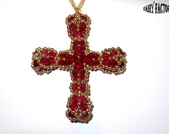 50% Off - Transylvania Cross - Pendant Cross Pattern