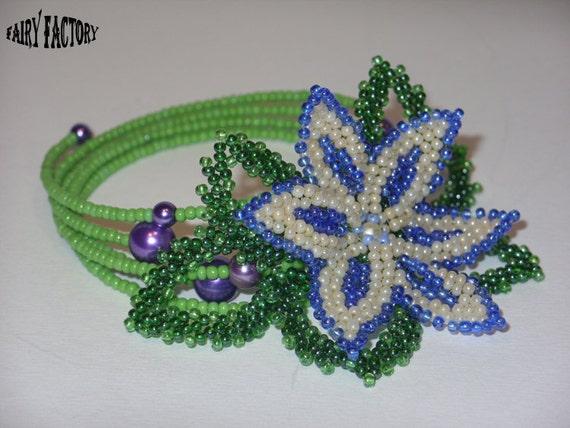 Marguerite - Cuff/Bracelet PATTERN