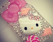 Deco Pink Chocolate Hello Kitty iPhone 4s