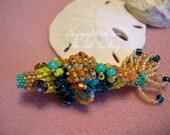 Jewel the Bead Woven Koi Fish 3 D