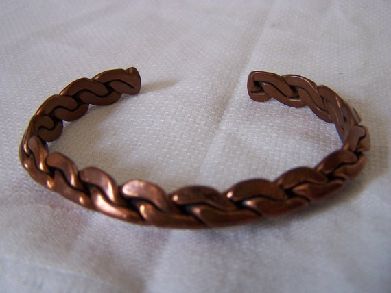 copper, bracelet, vintage, copper jewelry,