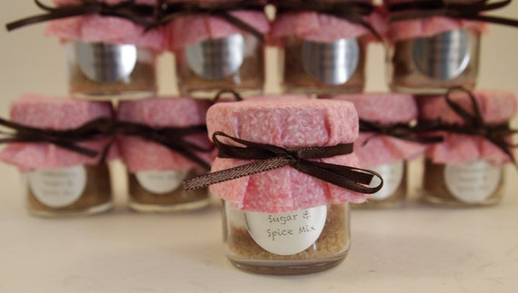 30 Wedding Favors with personalized labels or Favors for Baby Shower Favors, Bridal Shower, Anniversary, or Engagement Party