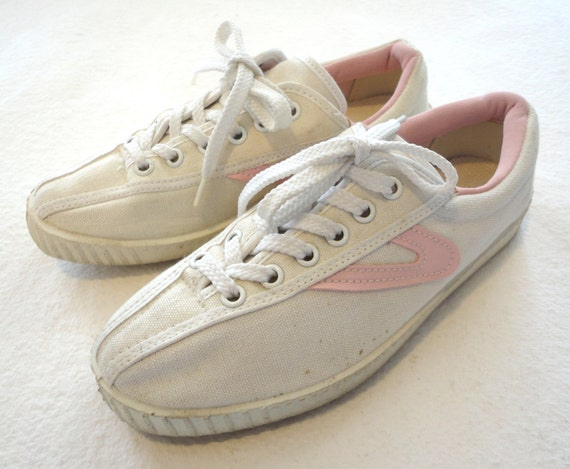 vintage tretorn canvas sneakers womens size by