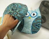 Owl Pot holders for the Kitchen