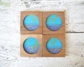Reserved. Georges Briard Coasters - Summer, Tiki, Retro Decor, M. Willie Product