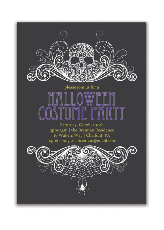 Lovely Adult Halloween Party Invitations Part - 11: Like This Item?