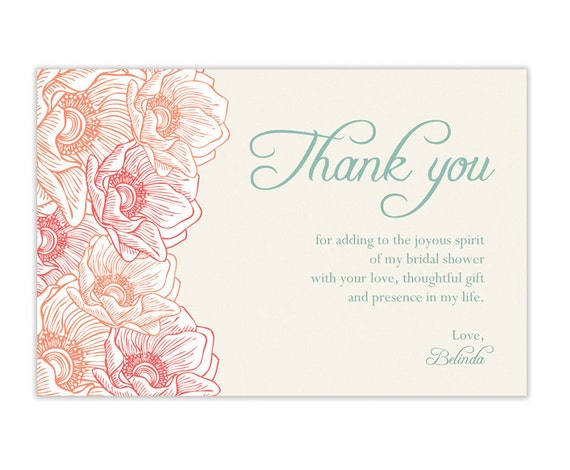 Thank You Note Wedding Gift Not Attending : Unavailable Listing on Etsy