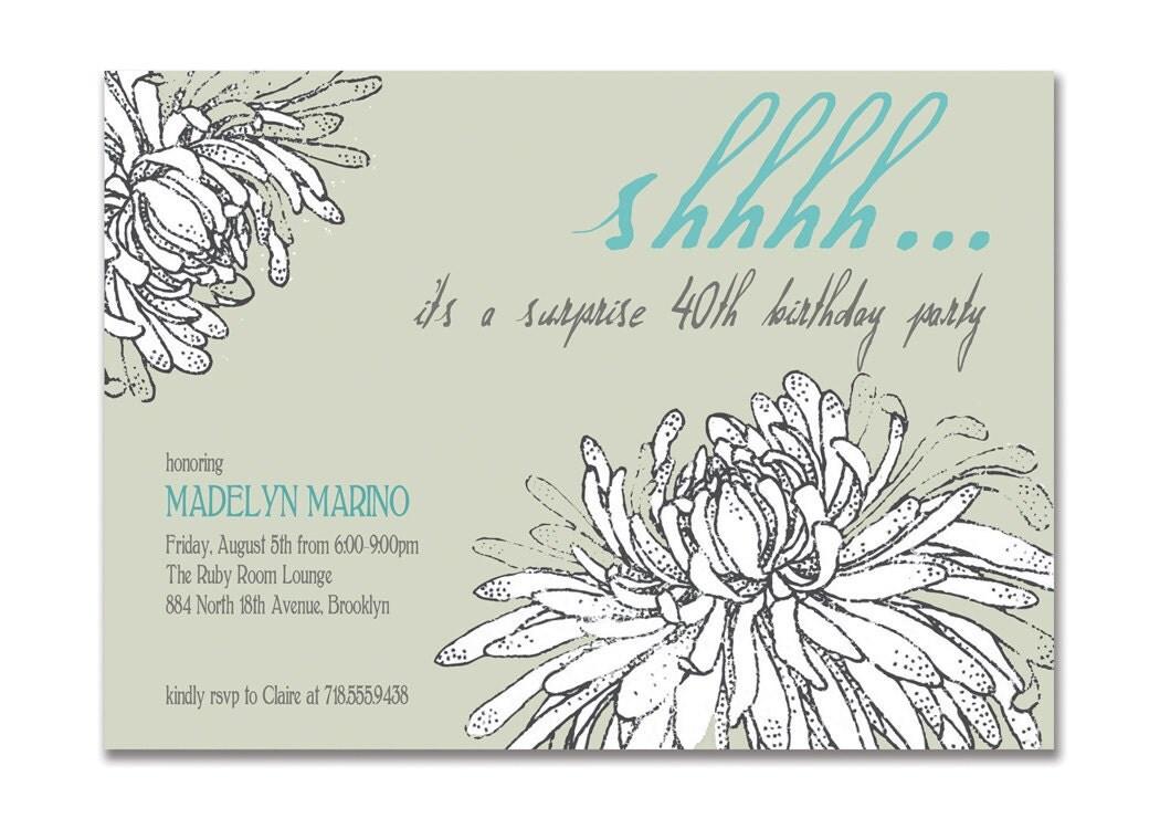 40 Birthday Invitations was nice invitations sample