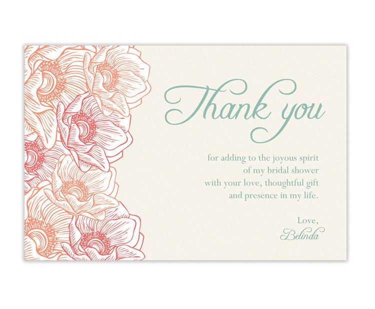 Bridal Shower Gift Thank You Sayings : Unavailable Listing on Etsy