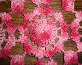 Vintage crochet doily.