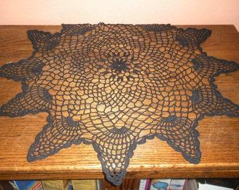 Vintage hand crochet doily.