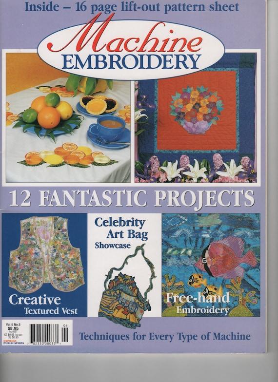 machine embroidery magazine