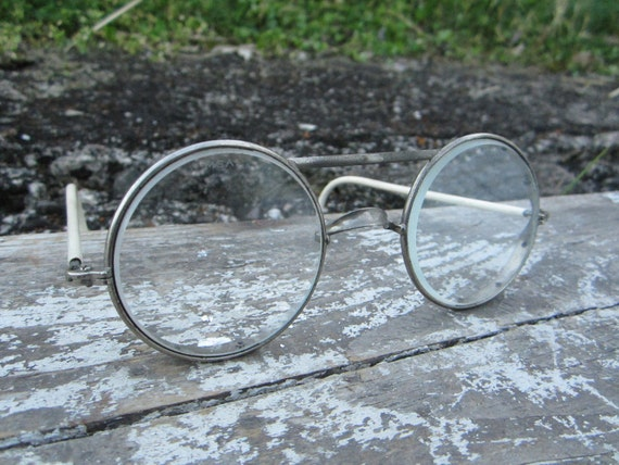 Vintage Industrial Safety Glasses  Steampunk Goggles Riding Glasses AO American Optical