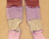Kids Jersey Armwarmers Pastel Shades Upcycled Pixie Fae Bellydance recycled FREE P&P JAW014