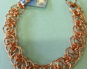 Copper Parallel Bracelet