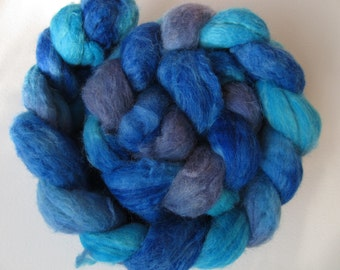 The Blue Carbuncle Superwash BFL Spinning Top (roving) 4.0 oz (a) Free U.S. Shipping