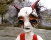 Creepy Gothic Doll Ian Dartgun