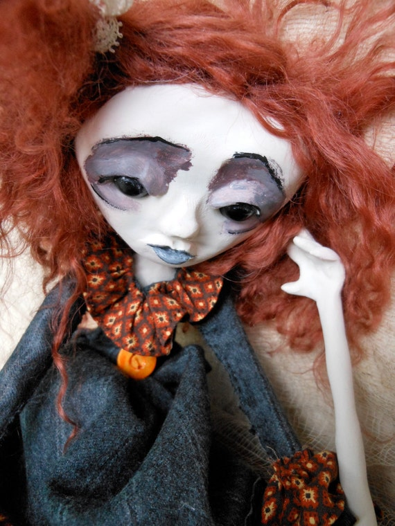 OOAK Art Doll Karma Nodsu RESERVED