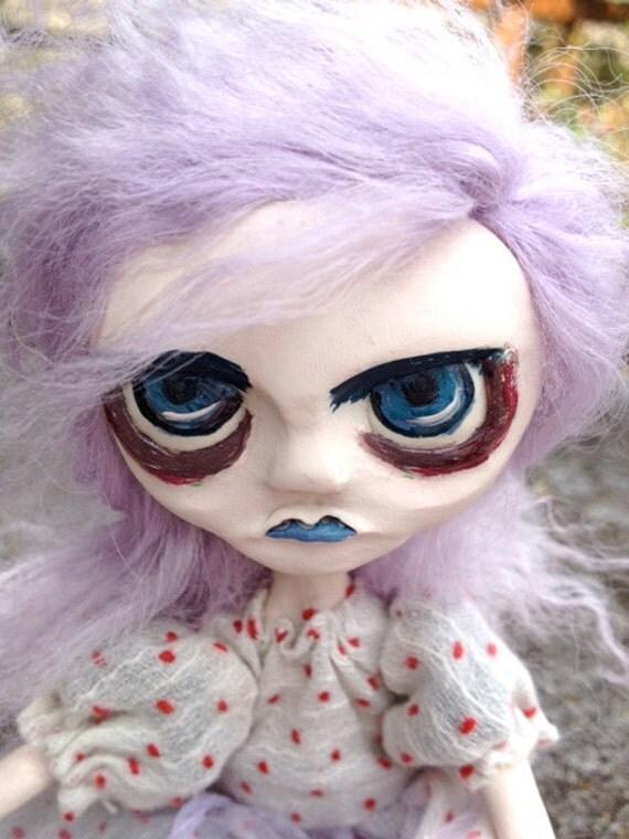 Handmade Goth Art Doll Marcy