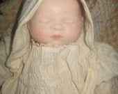 Beautiful Vintage Bye Lo Bisque Baby Doll -- Head Marked Grace Storey Putnam