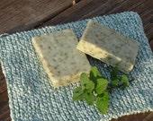 Goat Milk Soap --Hint of Mint