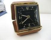 Vintage German Travel Alarm Clock