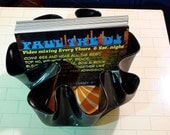 Recycled Vinyl Record Bowl-Rare Drum-n-Bass Promo Record-Free Paul the DJ mix cd with every order