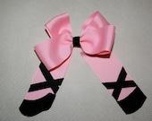 Ballet Slipper Hair Clip Bow-Infant Toddler Hair Bow