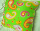 Snails and Swirls pillow