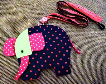 Cute Elephant Pouch / IPod, IPhone Valentine's Day
