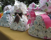 Baby Bundle - Stork Bundle - Baby Gift - Baby Shower Centerpiece