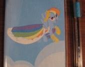 My Little Pony 2015 Weekly Planner calendar- Rainbow Dash